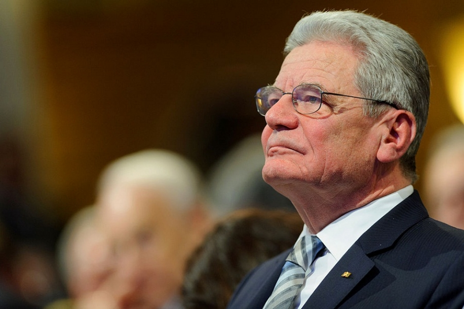 German President Gauck Backs Chancellor Merkel