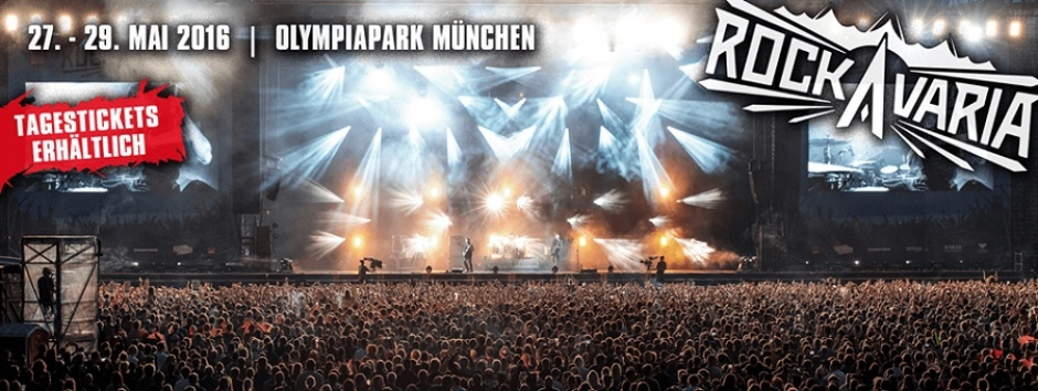 Festivals in Munich: Rockavaria, May 27-29