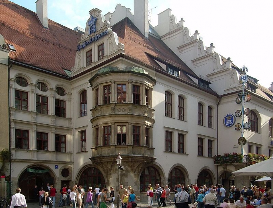 Visit the World Temple of Beer: Hofbräuhaus